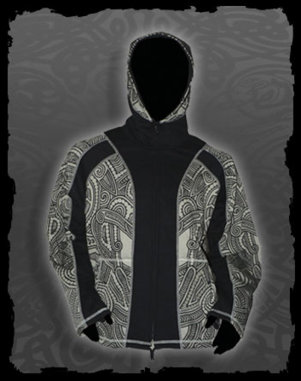 Jacket Men Skywalker Dwarfhood - Maori Tribal print Nr.108