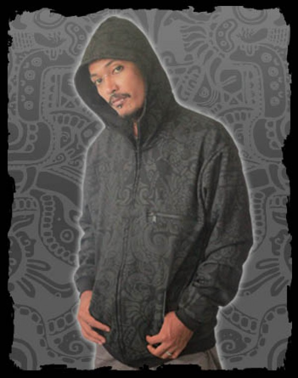 Jacket Men Nibiru Fullprint - Aztek Tribal print Nr. 225