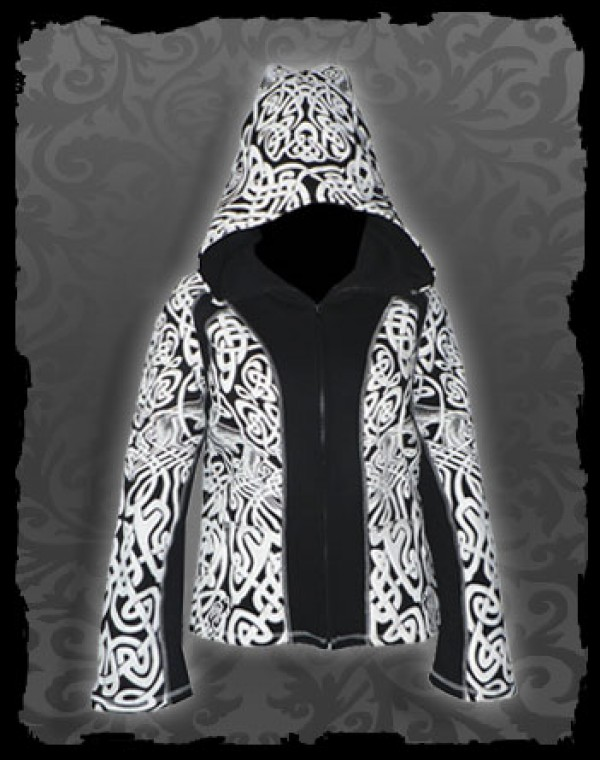 Jacket girl Skywalker Dwarfhood - Celtic Tribal print Nr.208