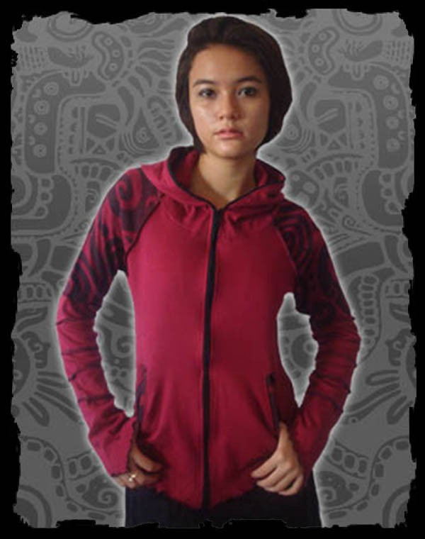 Avatar Jacket Girl - Maori big Tribal print Nr.106