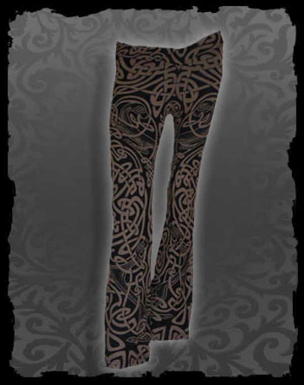 V-Waist Pants Flares Fullprint - Celtic Tribal Nr.208