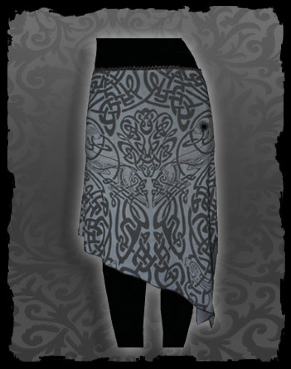 Long Skirt - Celtic Tribal print Nr.208