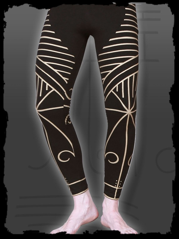 Legging Long - Mentawai Tribal Prints Nr. 259 (Limited Edition)