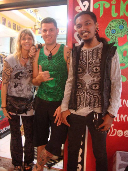 Pitzi, Jay, Albar @ Tiki Tatoo Haadrin