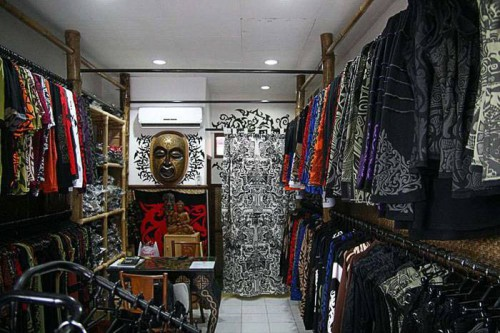 inside shop @ Batu Belig