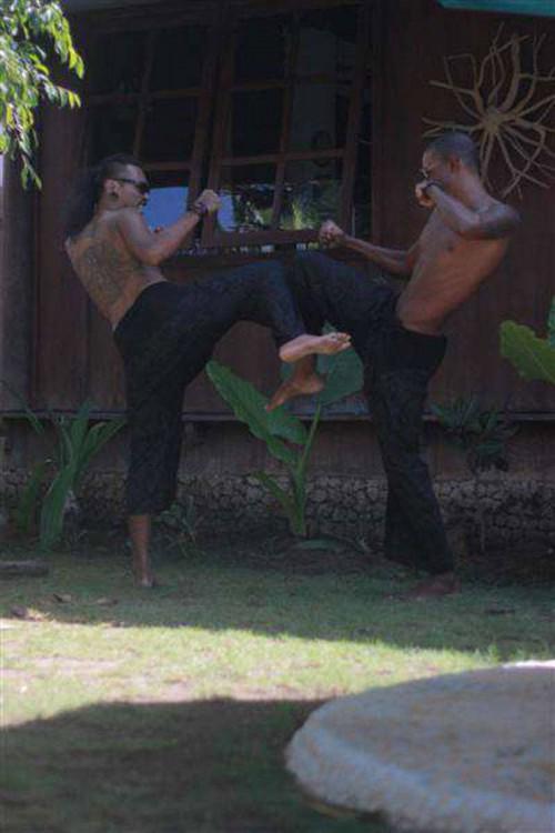 Albar & Claudi had a fun fight