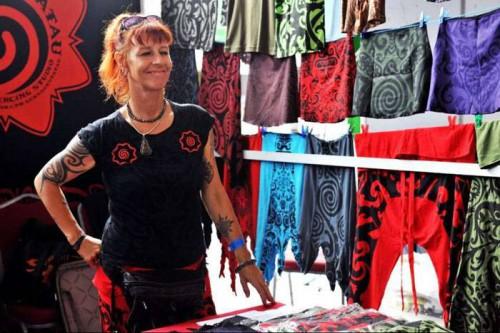 Gadogadovienna Booth @ Miri Tatto Exh @Sarawak